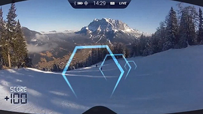 Augmented reality App Ski Mask